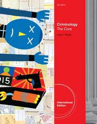 Criminology by Larry J Siegel image