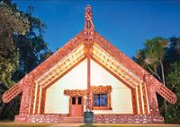 Holdson: Explore New Zealand: Series 2 - Te Whare Runanga, Waitangi - 100 Piece Puzzle image