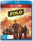 Solo: A Star Wars Story on 3D Blu-ray