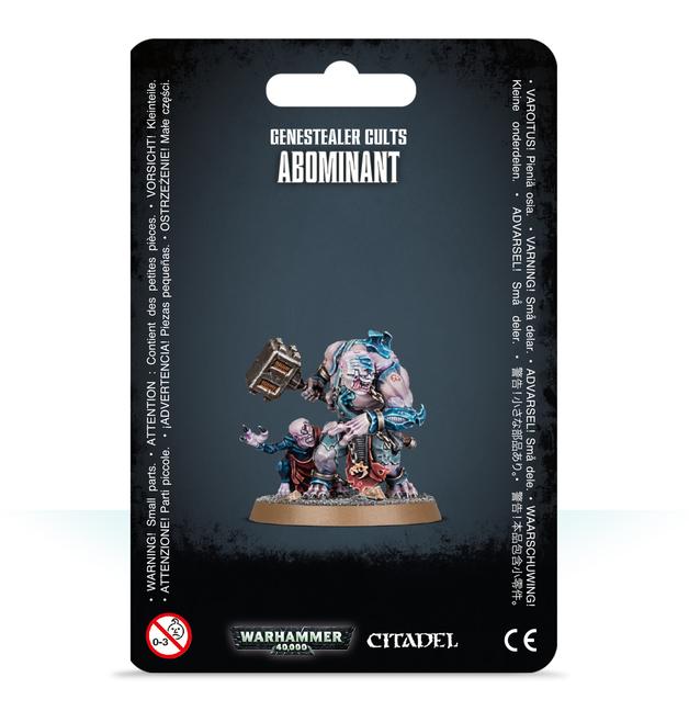 Warhammer 40,000 Genestealer Cults Abominant