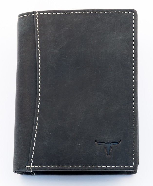 Urban Forest: Sundance Leather Wallet - Black