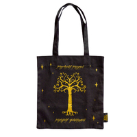 Lord of the Rings: Tree of Gondor Tote Bag - Black