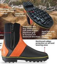 Adrenalin Fish'O' Rock Spike Boot - X/L (11)