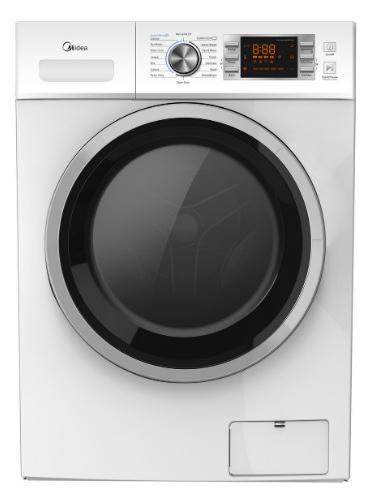 Midea 7.5KG Front Loader Washing Machine - Black