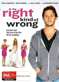 The Right Kind Of Wrong on DVD