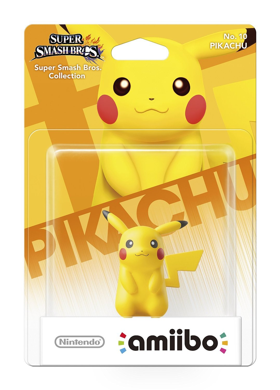 Nintendo Amiibo Pikachu - Super Smash Bros. Figure for Nintendo Wii U image
