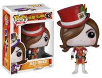 Borderlands: Mad Moxxi (Red) Pop! Vinyl Figure