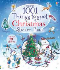 1001 Things to Spot at Christmas Sticker Book by Alex Frith