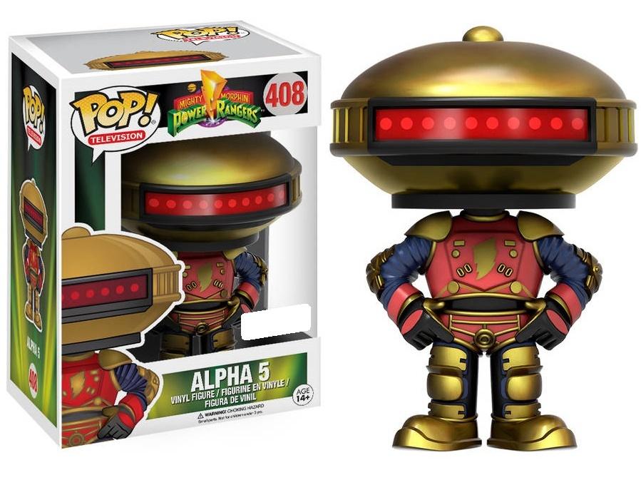 Alpha 5 Pop Vinyl Figure At Mighty Ape Australia