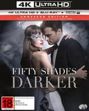 Fifty Shades Darker (4K UHD + UV + Blu-ray) DVD