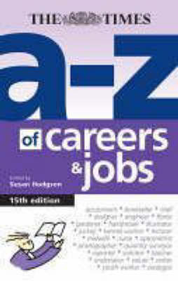 A-Z of Careers and Jobs by Susan Hodgson image
