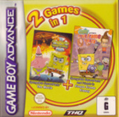Spongebob Movie + Spongebob Freeze Frame Frenzy (Double Pack) for Game Boy Advance