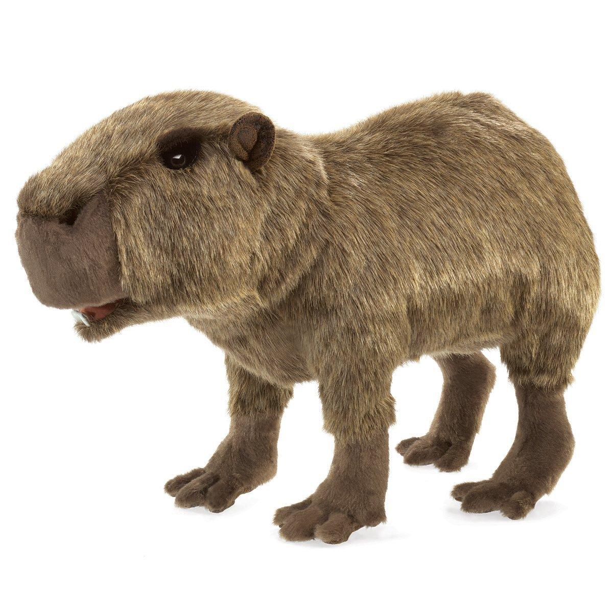 Folkmanis Hand Puppet - Capybara image