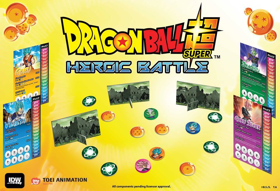 Dragon Ball Super: Heroic Battle - Card Game image