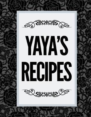 Yaya's Recipes by Boom Designs