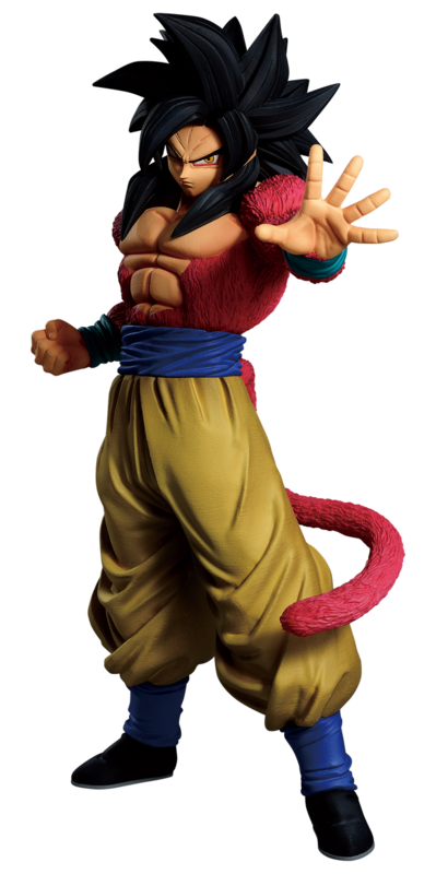 Dragon Ball : Super Saiyan 4 Goku - PVC Figure