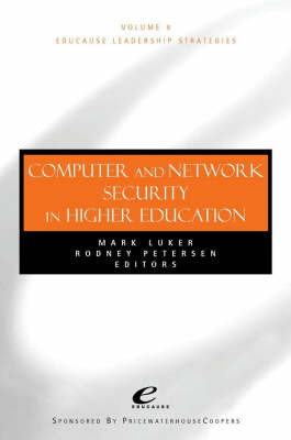 Computer and Network Security in Higher Education by Mark A. Luker image