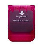 Sony Memory Card: Crimson Red for