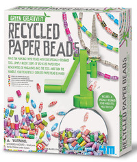 4M: Green Creativity Recycled Paper Beads image