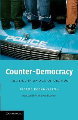 Counter-Democracy by Pierre Rosanvallon image