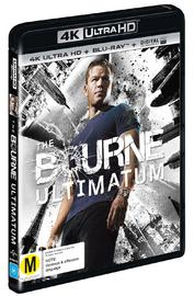 The Bourne Ultimatum on Blu-ray, UHD Blu-ray image
