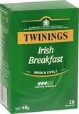 Twinings Irish Breakfast Tea Bags (20 Bags)