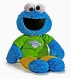 Sesame Street: Cookie Monster PJ Pal Plush Toy