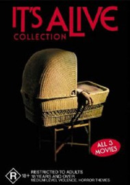 It's Alive Collection on DVD image