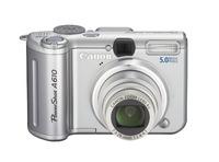 Canon Digital Camera Powershot 5.0MP A610 image