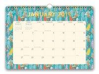 Justina Blakeney: Botanicals 2019 Wall Calendar