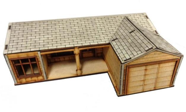 TTCombat: Tabletop Scenics – Suburban House D