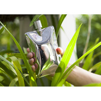 Areaware: Liquid Body Flask - Stainless Steel