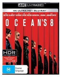 Ocean's 8 on UHD Blu-ray