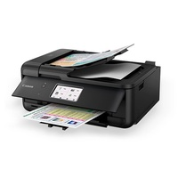 Canon PIXMA TR8560 15/10IPM Inkjet Multifunction All-in-One Printer BK image