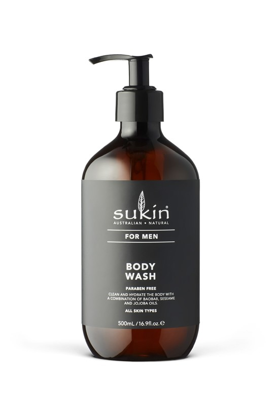 Sukin for Men Body Wash (500ml)
