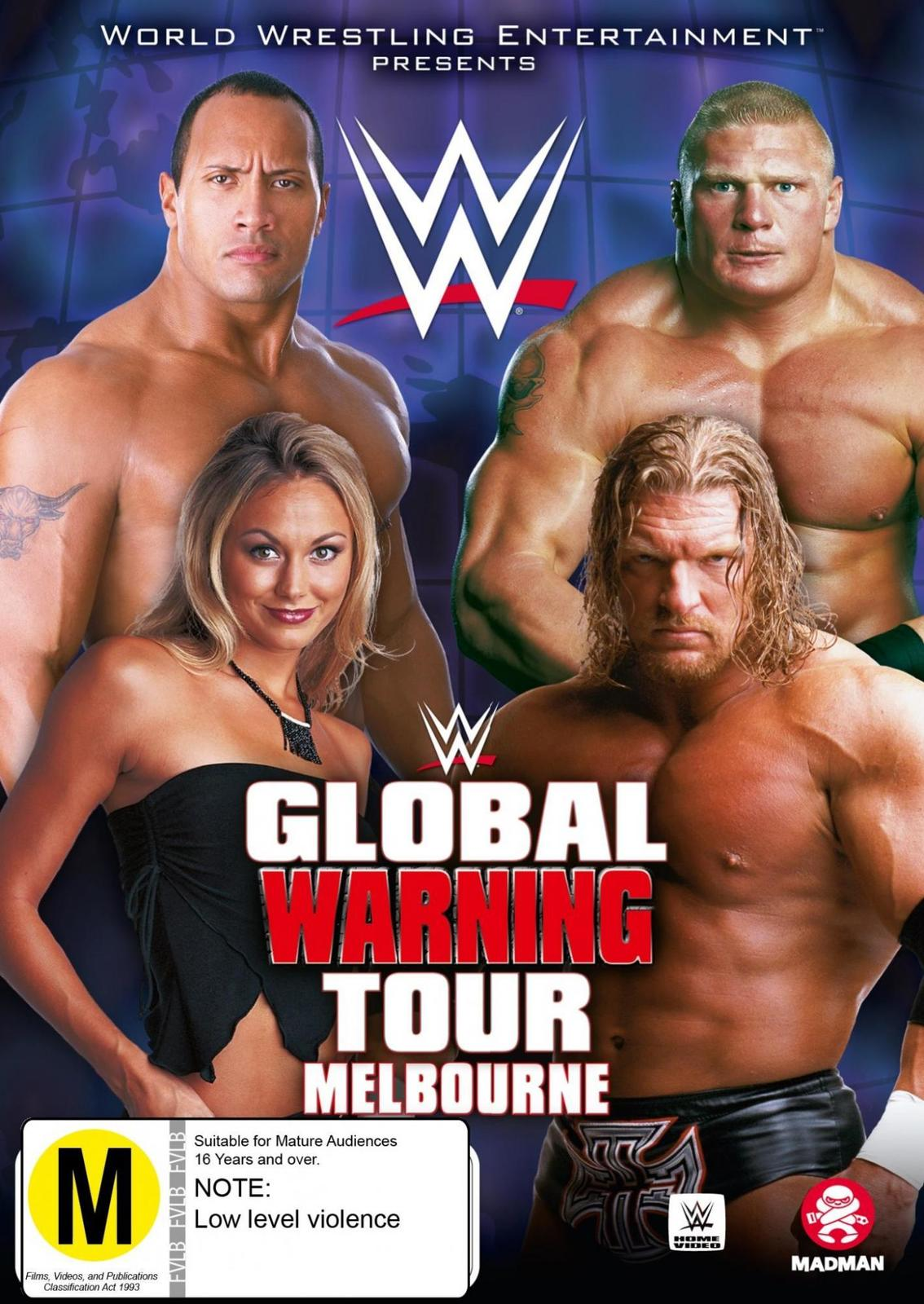 WWE: Global Warning on DVD image