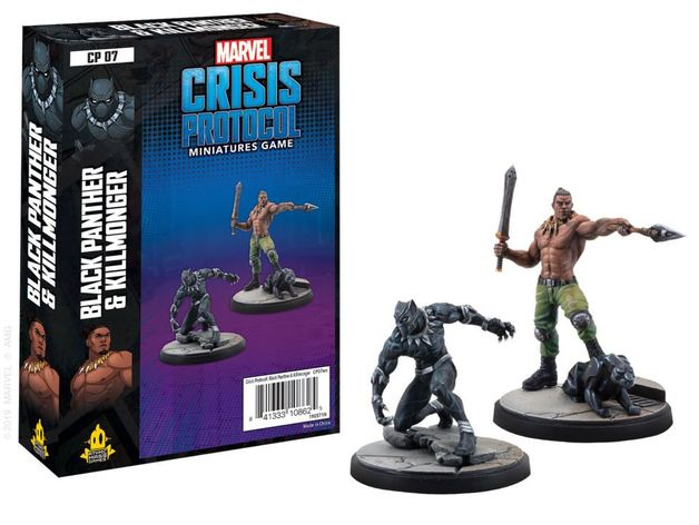 Marvel: Crisis Protocol Miniatures Game - Black Panther and Killmonger Expansion