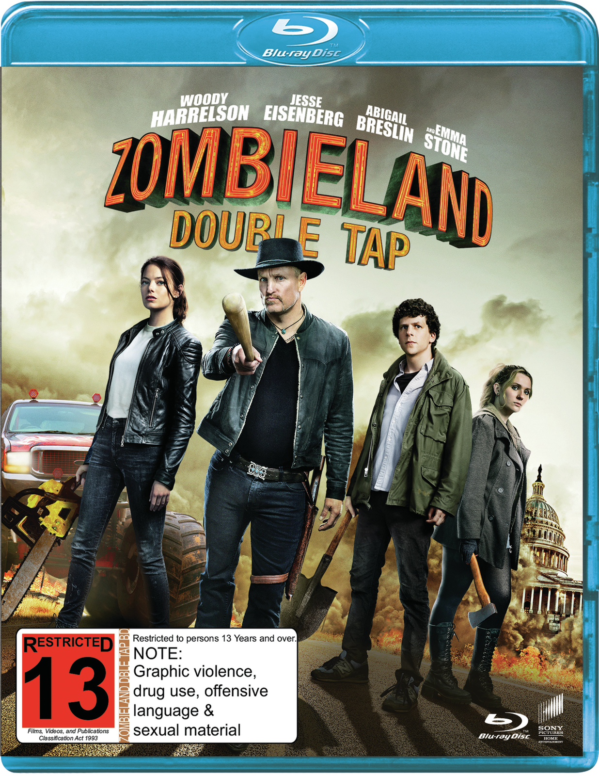 Zombieland: Double Tap on Blu-ray image