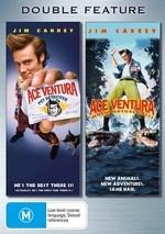 Ace Ventura / Ace Ventura 2 - Double Feature (2 Disc Set) on DVD