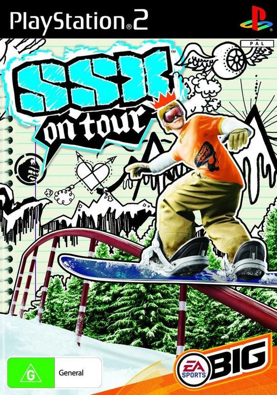 SSX On Tour for PS2