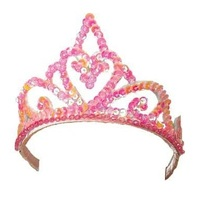 Fairy Girls - Princess Tiara (Light Pink, age 3-8)