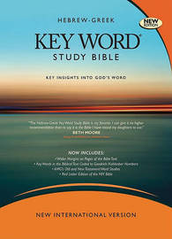 Hebrew-Greek Key Word Study Bible-NIV-Wide Margin image