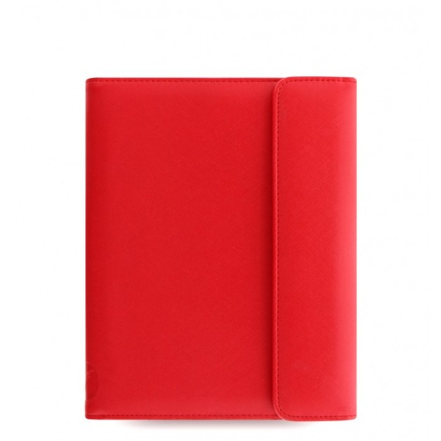 Filofax Saffiano Wrap Small Tablet Cover - Poppy