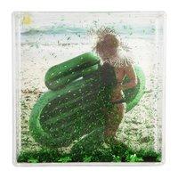 Sunnylife Glitter Frame Square - Cactus
