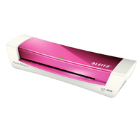 Leitz: Ilam A4 Home Office Laminator - Pink