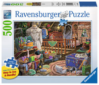 Ravensburger – The Attic Lge Form Puzzle 500pc XL