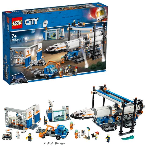 LEGO City: Rocket Assembly & Transport - (60229)