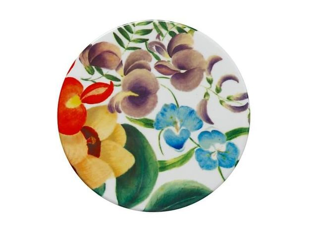 Maxwell & Williams: Royal Botanic Gardens Euphemia Henderson Ceramic Round Coaster - Native Iris