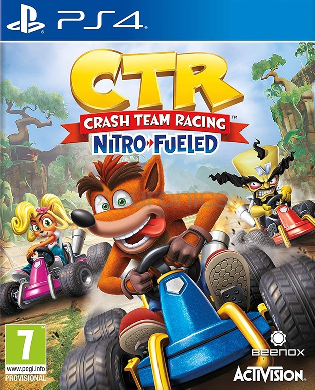 Crash Team Racing Nitro-Fueled for PS4