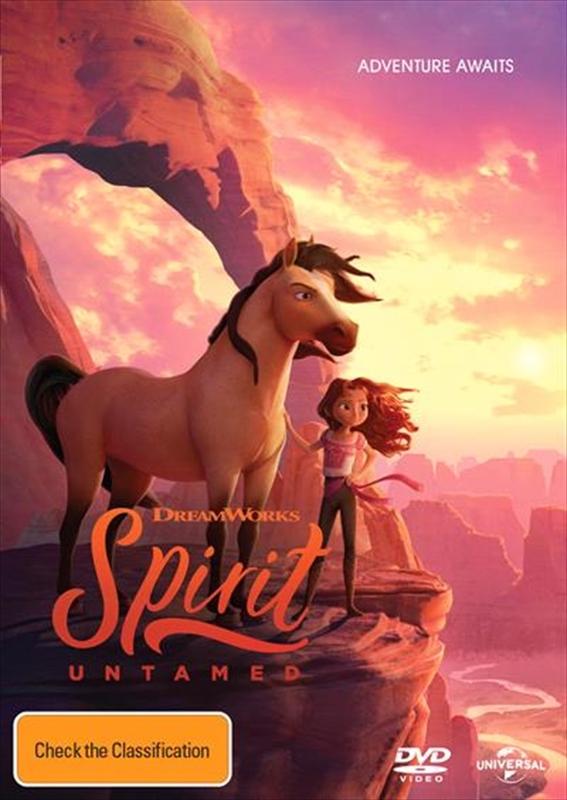 Spirit Untamed on DVD
